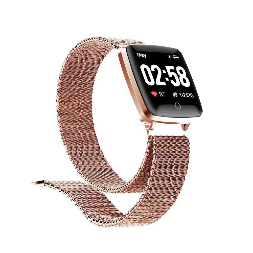 Reloj SAMA Fitness Trackers,Monitor de Frecuencia Cardíaca IP67,Rastreador de Actividad a Prueba de Agua,Reloj de… 1