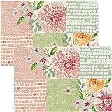 Sander Tischset 2er-Pack Gobelin buntgewebt Patchwork/Blumen Größe 32x48 cm