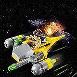 LEGO® Star WarsTM Microvaisseau Naboo Starfighter TM Jeu de construction, 6 Ans et Plus, 62 Pièces  75223