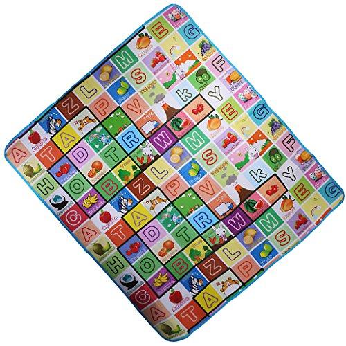 Preisvergleich Produktbild Weich Baby-Kind-Kleinkind Spielteppich Crawl Mat Spielmatte Babyschleichenmatte Picknick Decke - wie bild, 200 * 180 * 0.5cm