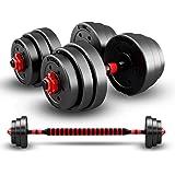 20/30/50KG dumbbells halter set met drijfstang, dumbbells halter set, verstelbare dumbbells set, verstelbare til training set