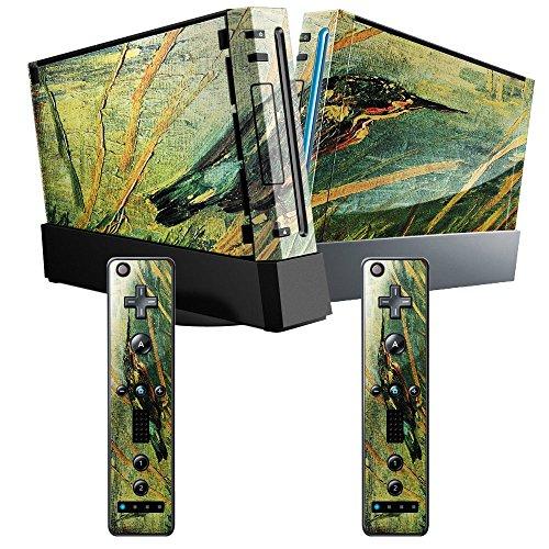 van-gogh-kingfisher-skin-autoadesivo-sticker-adesivi-pelle-cover-decal-set-con-disegno-strutturato-c