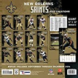 NEW ORLEANS SAINTS Kalender Wandkalender NFL Football 2017 - 3