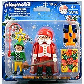 PLAYMOBIL 5846 – Santa Claus & Elf & Accessories