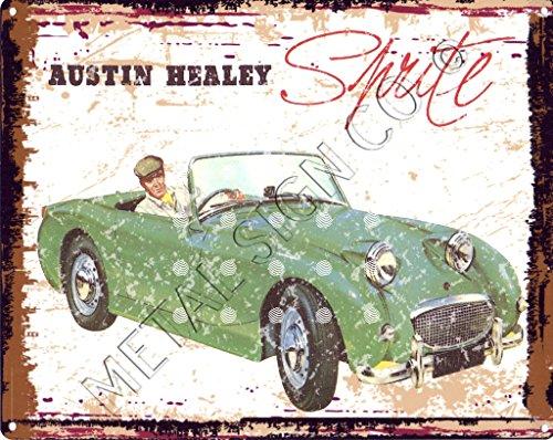 Klein Austin Healey Sprite Classic Car Metall Schild retro vintage style Garage Schuppen Werkstatt Bar Pub Wand Kunst Büro Spiele Raum Garage -