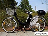 Pedelec - Bicicleta eléctrica, 250vatios / 36voltios - Bicileta con motor de26pulgadas, color negro, tamaño 26 pulgadas, tamaño de rueda 26.00