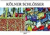 Kölner Schlösser - surreal ins Licht gestellt (Wandkalender 2017 DIN A2 quer): Kölscher Brauch. Liebesschlösser an der Hohenzollernbrücke. (Monatskalender, 14 Seiten ) (CALVENDO Kunst)