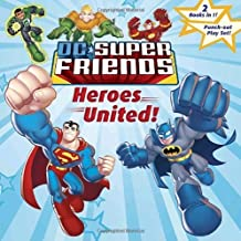 Heroes United!/Attack of the Robot Super Friends (Pictureback) by Random House (2008-05-27)