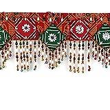 EarthenMetal handcrafted Bandhani Style ...