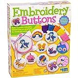 4M - Embroidery Buttons, juego de creatividad (004M4622)