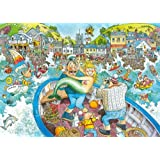 Wasgij Original 16 - Catch of the Day 1000 Piece Jigsaw Puzzle by Jumbo Games
