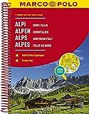 MARCO POLO Reiseatlas Alpen, Norditalien 1:300 000 (MARCO POLO Reiseatlanten) -