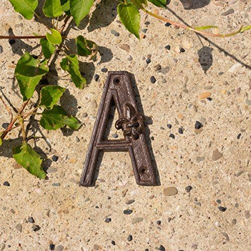 Antikas - Stilvoller Buchstabe 'A' für Hauswand, Hausnummer- Erweiterung im antiken Stil