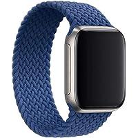 Gizget - Cinghie elastiche in nylon intrecciate, compatibili con orologi da 38 mm, 40 mm, 42 mm, 44 mm, per iWatch…