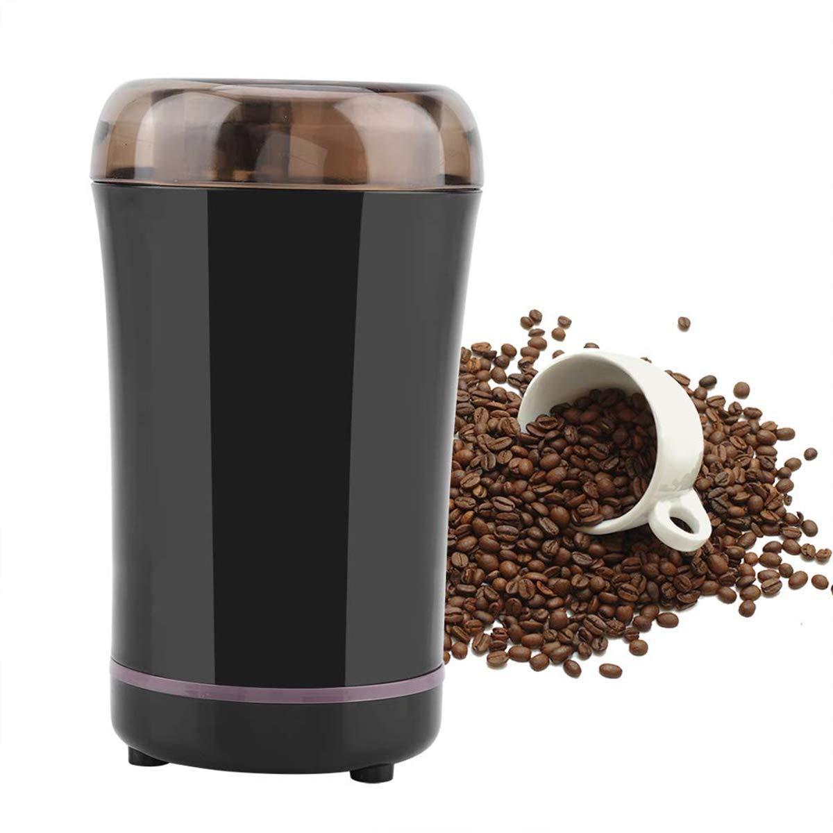 NWOUIIAY Machine /à Caf/é Moulin Moulin /à caf/é Semences de Caf/é Noix Poivre /Épices avec Lames en Acier Inoxydable