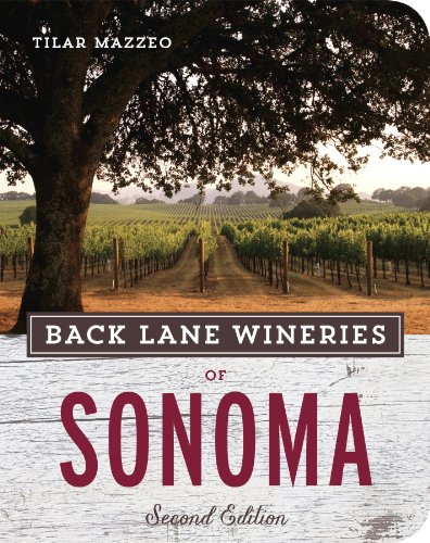 Back Lane Wineries of Sonoma, Second Edition (English Edition) - Sonoma-cocktail