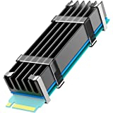 glotrends M.2 Heatsink NVME Heatsink voor M.2 2280 SSD 22x70x10mm aluminium behuizing