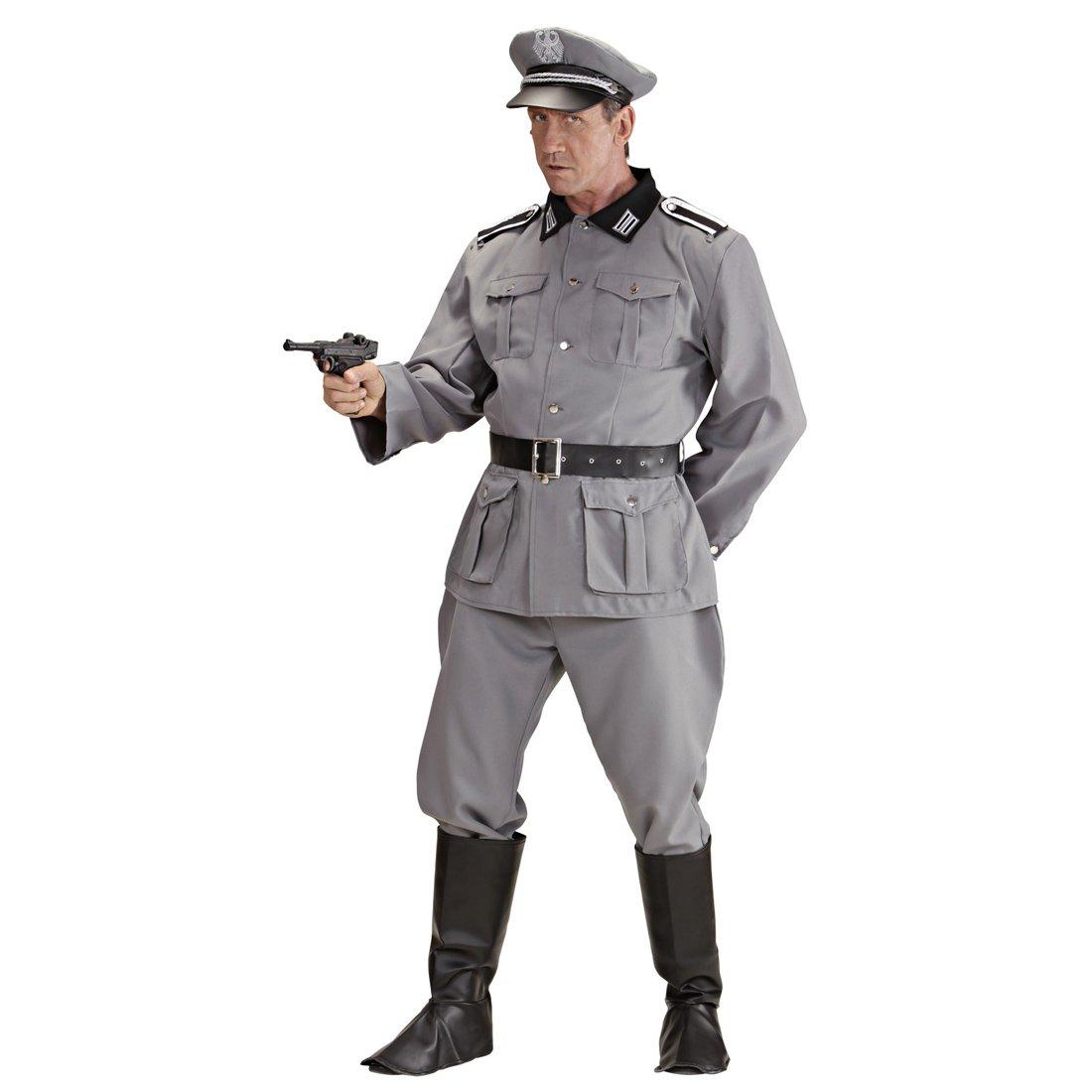 Top Costume soldato tedesco da uomo Uniforme militare WW2 XL 54  BC93
