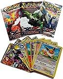 #5: Pokemon Trading Card Game- 5 Packs (Random) - Basic Cards (Non Licensed)