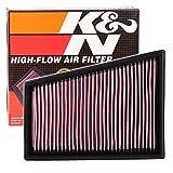 K&N SPORTLUFTFILTER SPORT LUFTFILTER TAUSCHFILTER SPORTFILTER AIR FILTER 33-2849