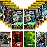 LEGO Star Wars Trading Card Collection Serie 1: 10 Booster + Bonus Karte + LE-Karte (LE5 Unbeugsamer Chewbacca)