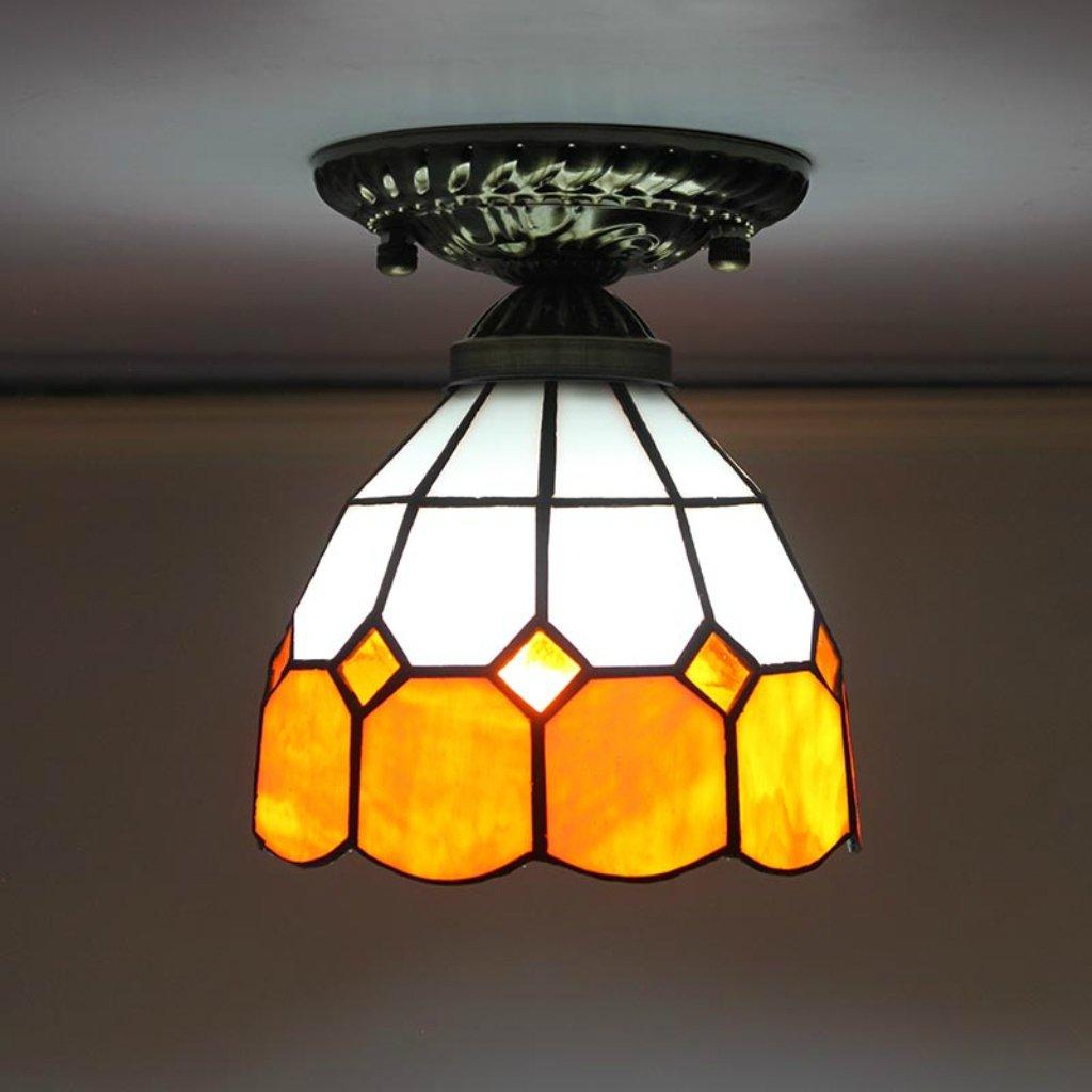 lampadario Tiffany 6-Inch Mediterraneo moderno e minimalista ...