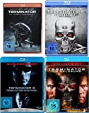 Terminator 1 2 3 4 Uncut QUADRILOGY - Blu Ray Collection Set