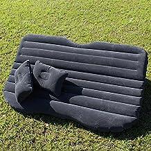 Coche inflable cama hinchable Camping Asiento Trasero Extended coche universal de coche cojín cama hinchable flocado colchón cama de aire para niños