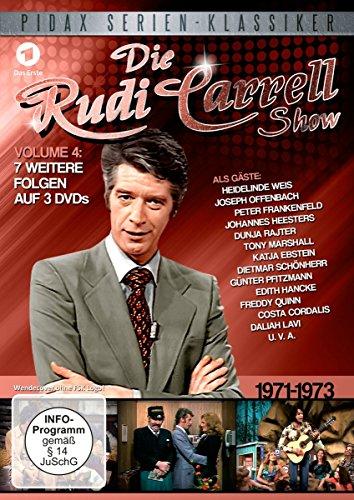 Bild von Die Rudi Carrell Show, Vol. 4 / Weitere sieben Folgen der beliebten Unterhaltungs-Show mit vielen Stars von 1971 - 1973 (Pidax Serien-Klassiker) [3 DVDs]