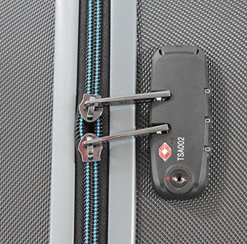 Travelite Tourer 4 Rad Trolley L Erweiterbar, 72749-01 Koffer, 76 cm, 99 Litre, Schwarz -