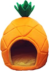 Fly in It Lovely Ananas Weiches Warmes Pet Nest Hund Katzenbett Hund Katze Bett Haus Nest Mit Weichem Kissen