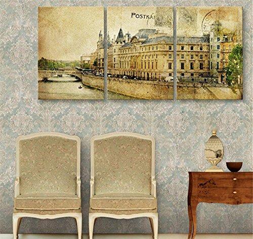 mdz-3-pcs-creative-continental-retro-urban-architecture-peinture-decorative-giclee-toiles-frameless-