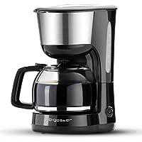 Aigostar Chocolate 30HIK – Cafetière à filtre, 1000 watts, capacité de 1,25 litres, sans BPA, filtre permanent lavable…