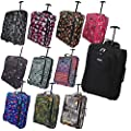 Hand Luggage 50x40x20 Wheeled Lightweight Cabin Easyjet Trolley Bag Case - cheap UK light shop.