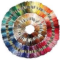 447 colores, kit de madejas de hilo
