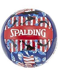 Spalding Ball Beachvolley Malibu 72-322Z - Balón de voleibol para exterior, color multicolor, talla 5