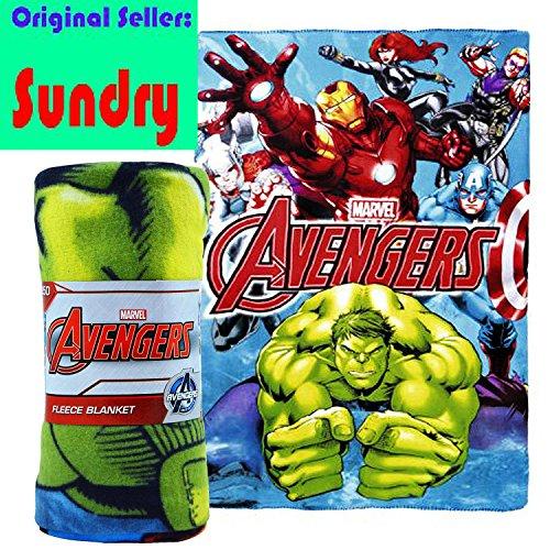 Con licenza ufficiale carattere coperta in pile Disney per bambini Letto Coperta Spider-Man Avengers Frozen Star Wars UK Nuovo AVENGERS