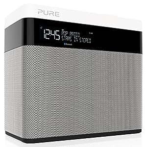 Pure VL-62699 Pop Maxi Radio FM e digitale DAB+ portatile con Bluetooth, stereo, Multicolore