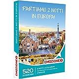 EMOZIONE3 - Cofanetto Regalo - PARTIAMO 2 NOTTI IN EUROPA! - 520 viaggi in Italia e Europa in imperdibili hotel