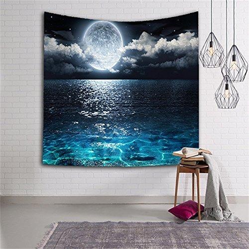 Foto de Galaxy–Star Universo Vía Láctea espacio ultraterrestre poliéster tela colgante de pared decoración Bohemia tapices para dormitorio sala de estar GT08, GT08-4, 60