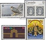 Kanada 680,681,702,703 (kompl.Ausg.) 1978 Naturschutz, CNE, Philatelie u.a. (Briefmarken für Sammler) Vögel
