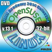OpenSuse 13.1 Linux DVD 32-bit installazione completa comprende gratuito Esame UNIX Accademia di valutazione