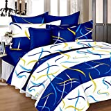 #4: Zesture Bring Home Premium 100 % cotton double bedsheet with 2 pillow covers -(225 x 230 cms , multicolor )