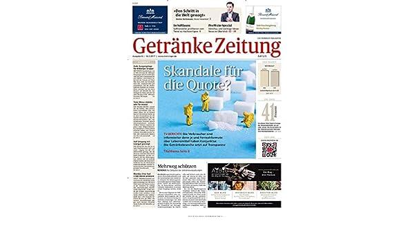 Getränke Zeitung [Abonnement jeweils 24 Ausgaben jedes Jahr]: Amazon ...