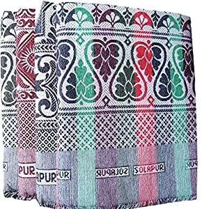 Textilekart Cotton 150 TC Solupuri Bedsheet (Standard_Multicolour)