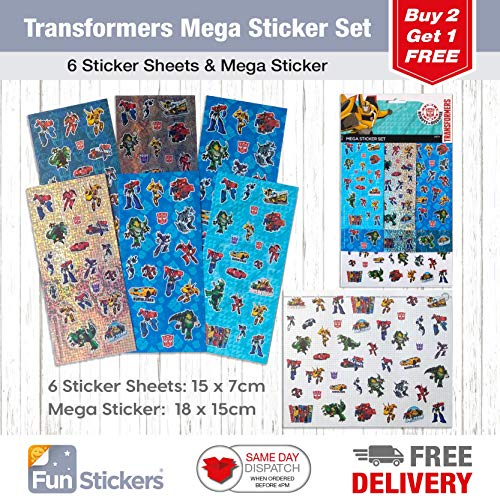Transformers Mega Sticker Set