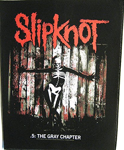 SLIPKNOT THE GRAY CHAPTER Backpatch
