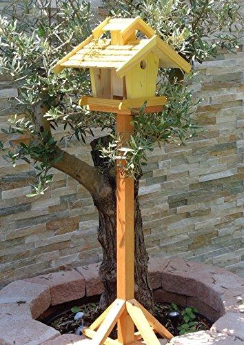 vogelhaus mit ständer, BEL-X-VOVIL4-MS-gelb002