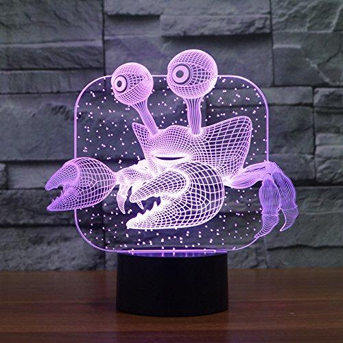 Neuartige Effekt-Marinetierkrabben-förmige Lampenhaus-Dekorationslampe