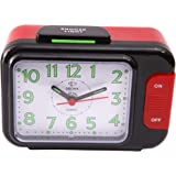Dojana Alarm Clock, Analog, DA202-RED-WHITE